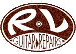 RV Guitar repairs logo